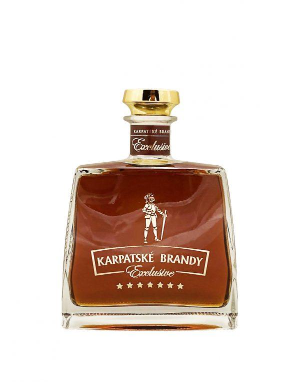 Karpatské Brandy Exclusive 40%, Bottleshop Sunny wines slnecnice mesto, petrzalka, koňak, rozvoz alkoholu, eshop