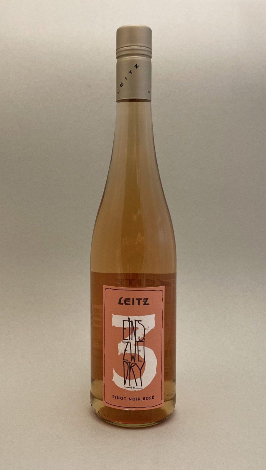 LEITZ 123 Pinot Noir Rosé, vinoteka Sunny wines slnecnice mesto, Bratislava petrzalka, vino ružové z Nemecka