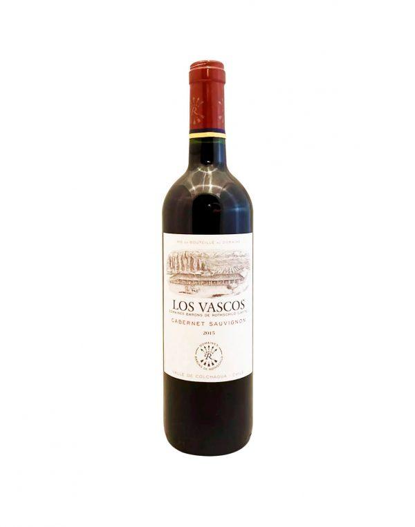 LOS VASCOS Cabernet Sauvignon 2015, vinoteka Sunny wines slnecnice mesto, Bratislava petrzalka, vino červené z Chille
