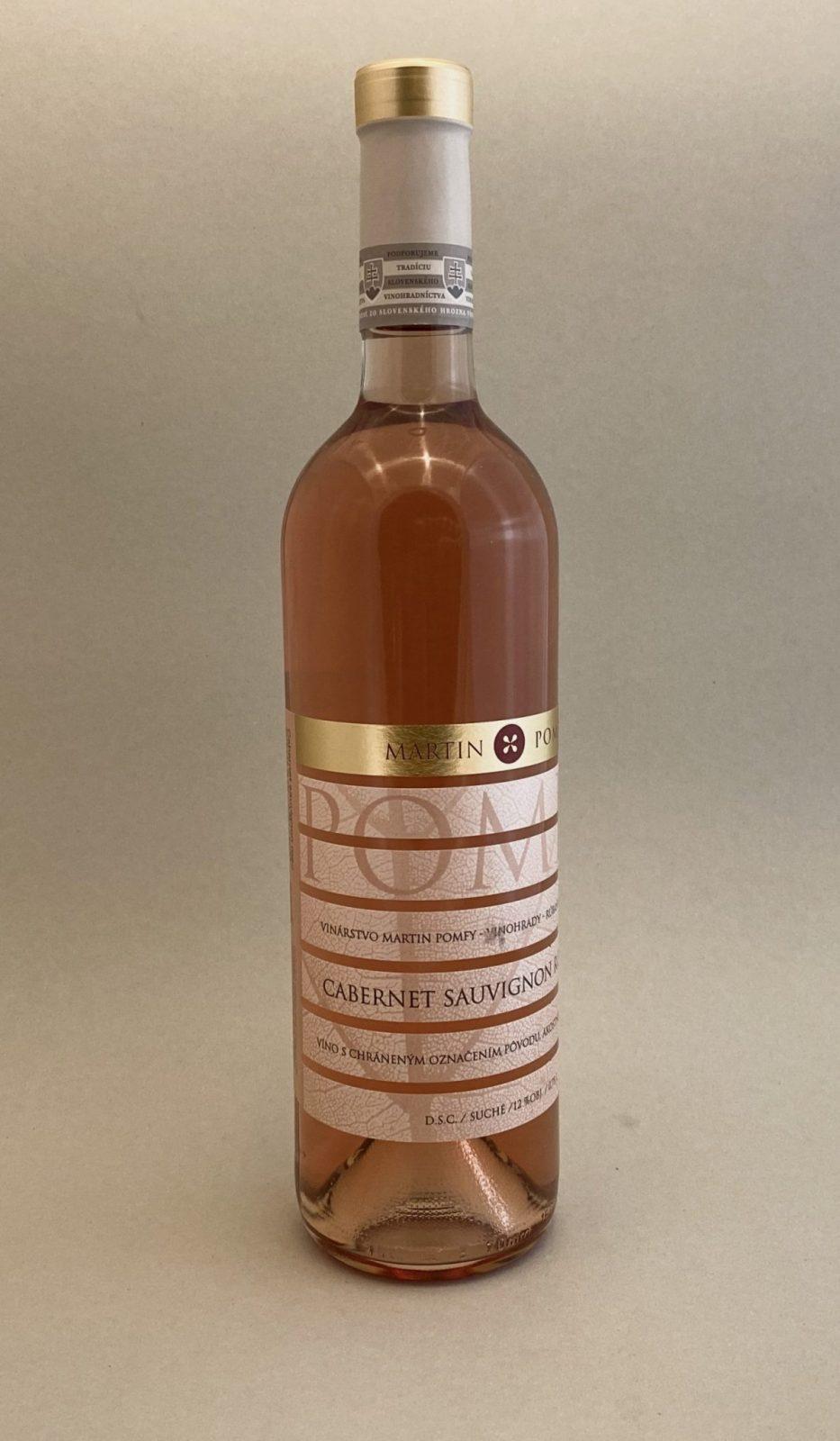 MARTIN POMFY - Cabernet Sauvignon Rosé, vinotéka v Slnečniciach, slovenské ružové víno, Bratislava Petržalka, Sunny Wines