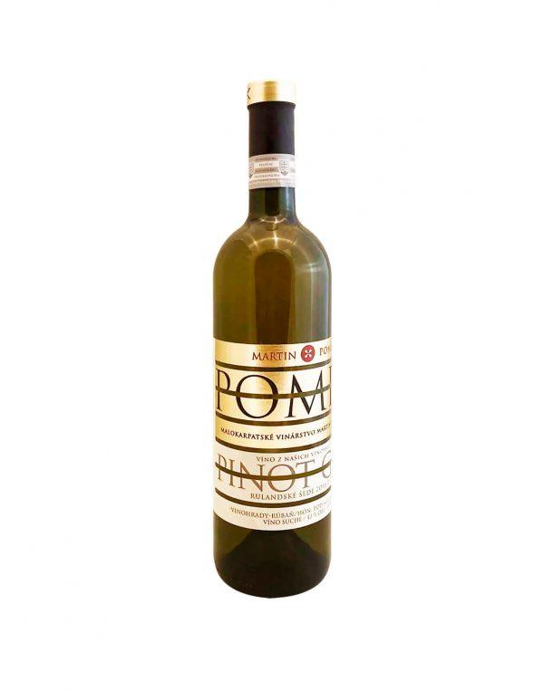 MARTIN POMFY Rulanské µedé 2018, vinotéka v Slnečniciach, slovenské biele víno, Bratislava Petržalka, Sunny Wines
