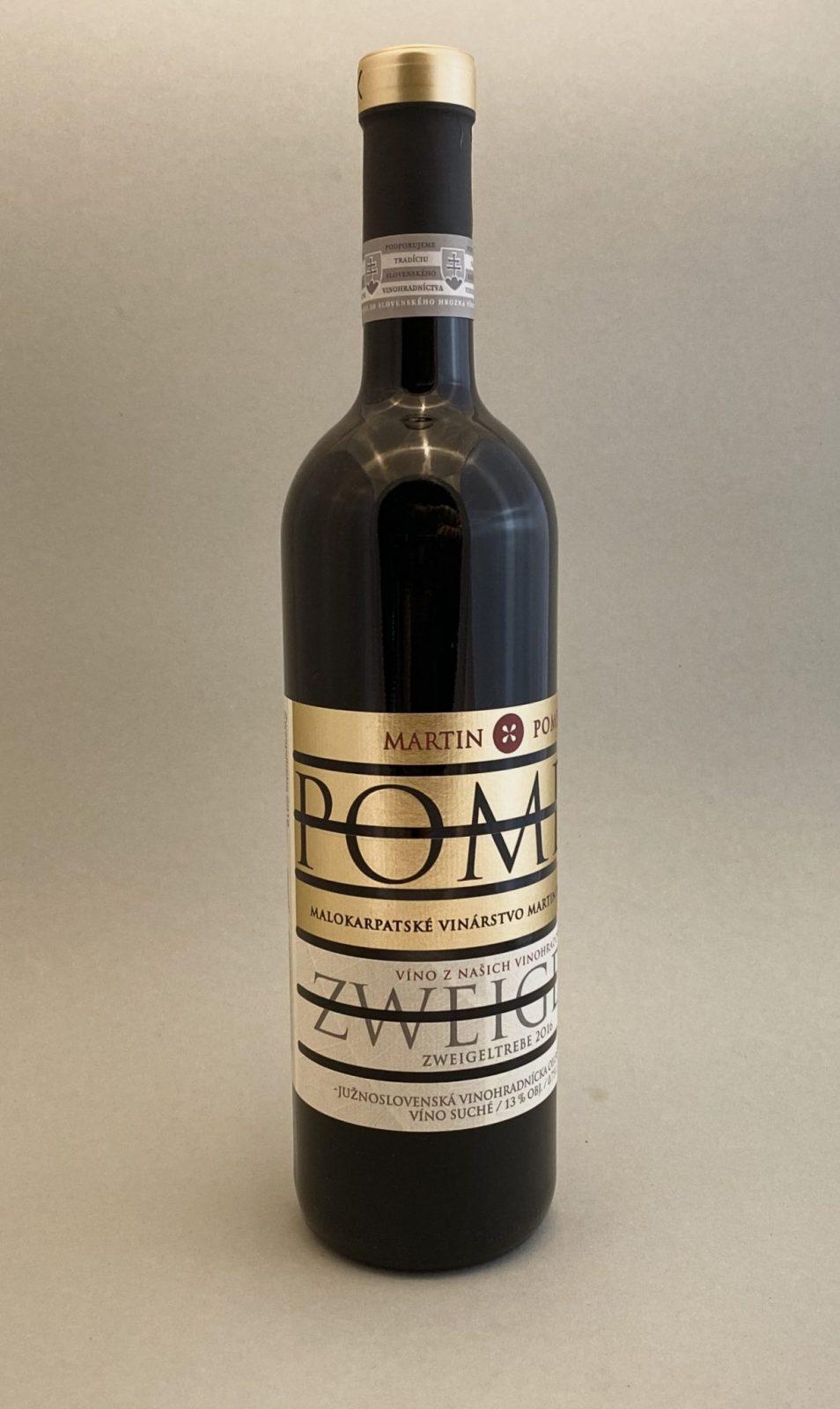 MARTIN POMFY Zweigeltrebe 2016, vinotéka v Slnečniciach, slovenské červené víno, Bratislava Petržalka, Sunny Wines