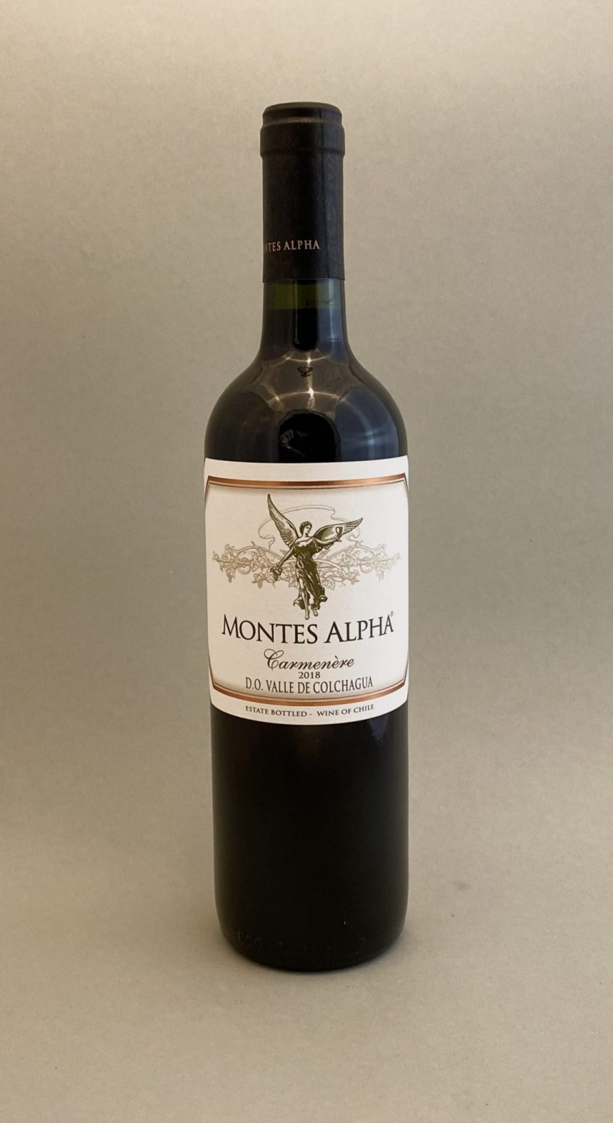 MONTES ALPHA Carmenère 2018, vinoteka Bratislava Sunny wines slnecnice mesto, petrzalka, vino červené z Chille