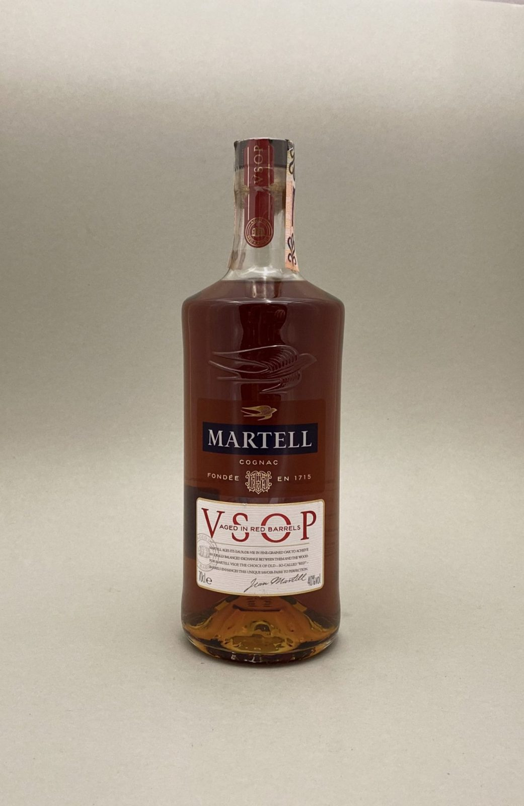 Martell V.S.O.P 40%, Bottleshop Sunny wines slnecnice mesto, petrzalka, koňak, rozvoz alkoholu, eshop