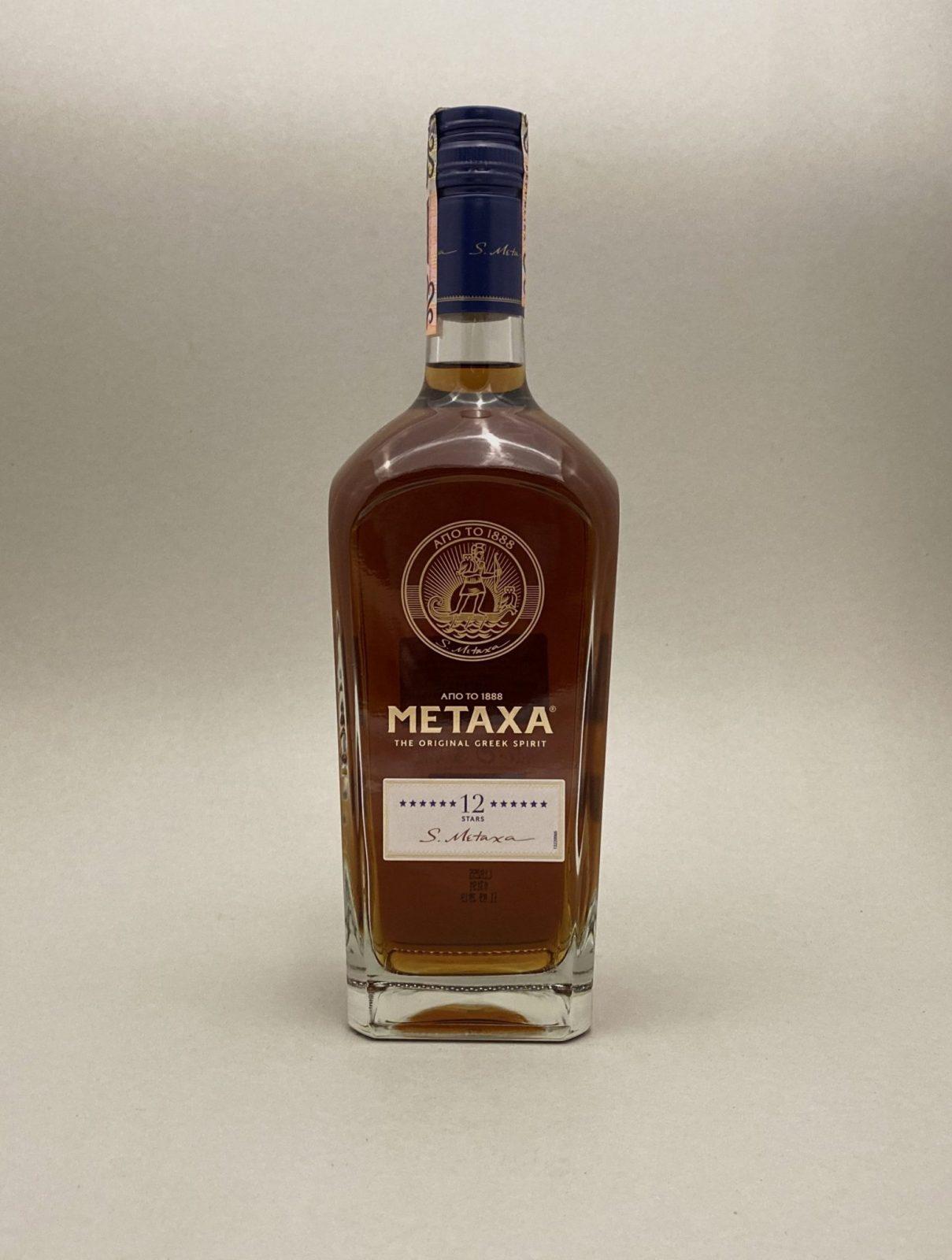 Metaxa 12 40%, Bottleshop Sunny wines slnecnice mesto, petrzalka, koňak, rozvoz alkoholu, eshop