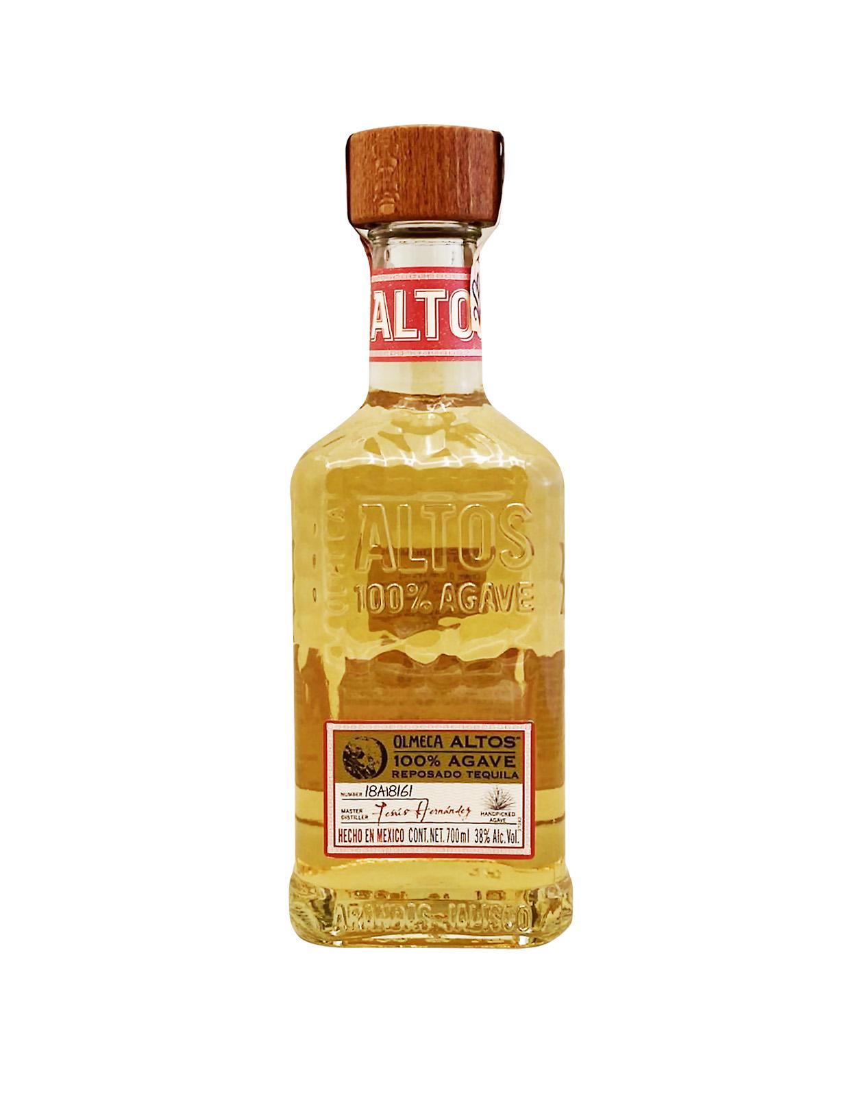 Olmeca Altos Reposado 38%, Bottleshop Sunny wines slnecnice mesto, petrzalka, Tequila, rozvoz alkoholu, eshop