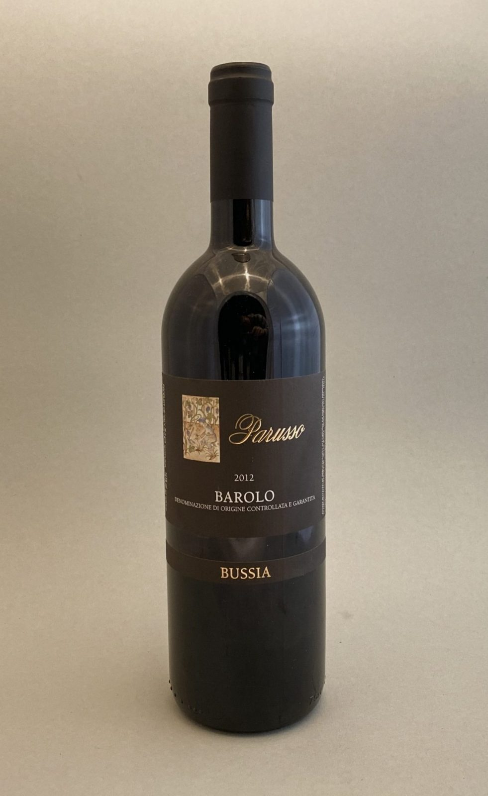 PARUSSO Barolo Bussia 2012, vinoteka Sunny wines slnecnice mesto, Bratislava petrzalka, vino červené z Talianska