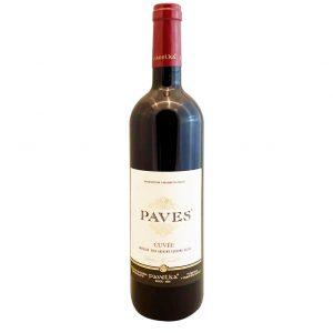PAVELKA Paves Červený Cuvée, vinotéka v Slnečniciach, slovenské červené víno, Bratislava Petržalka, Sunny Wines