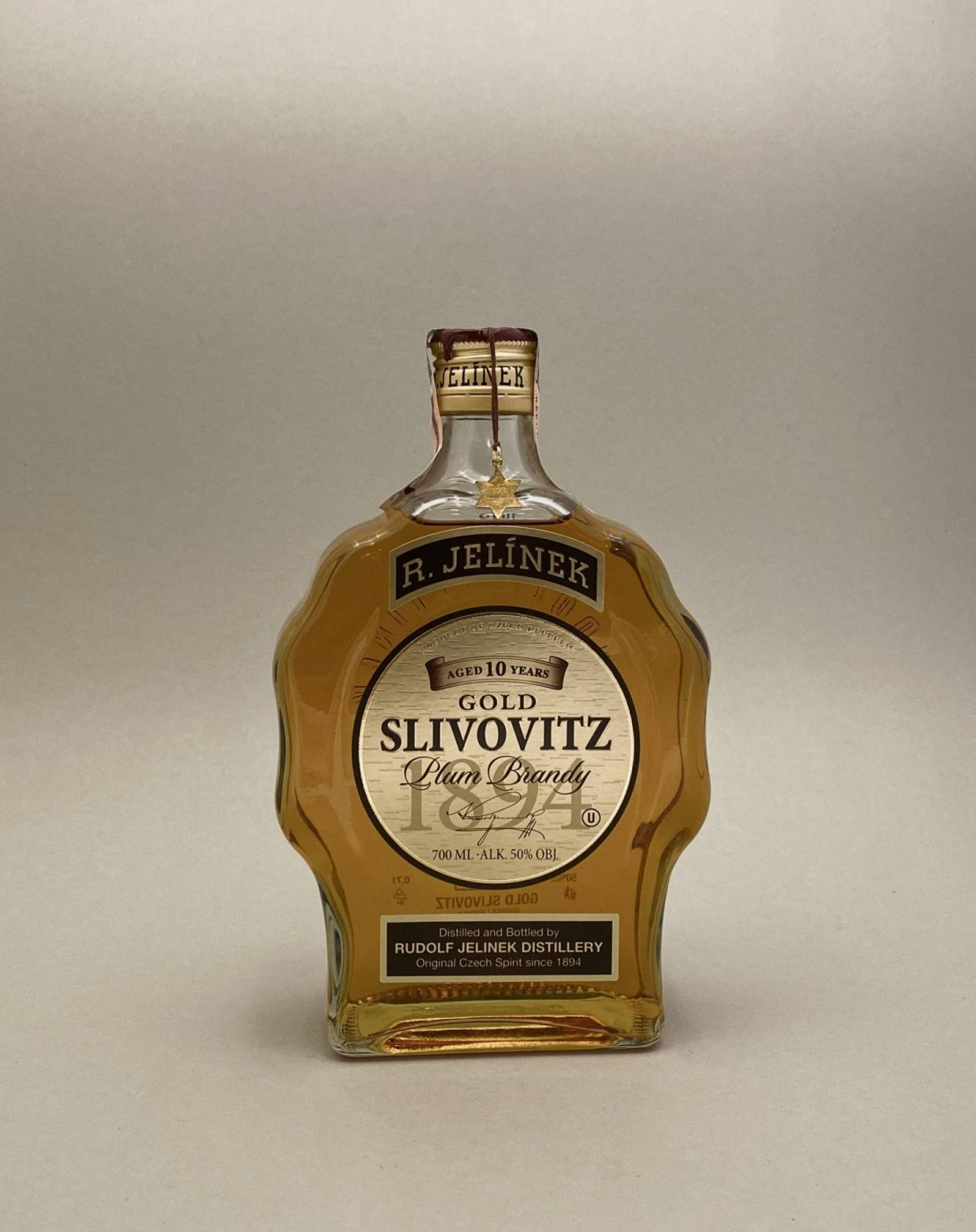 R. Jelínek Slivovitz Kosher Zlatá 50%, Bottleshop Sunny wines slnecnice mesto, petrzalka, destiláty, rozvoz alkoholu, eshop
