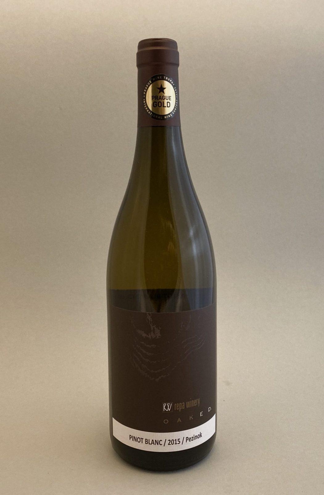 REPA WINERY Pinot Blanc Oaked 2015, vinotéka v Slnečniciach, slovenské biele víno, Bratislava Petržalka, Sunny Wines