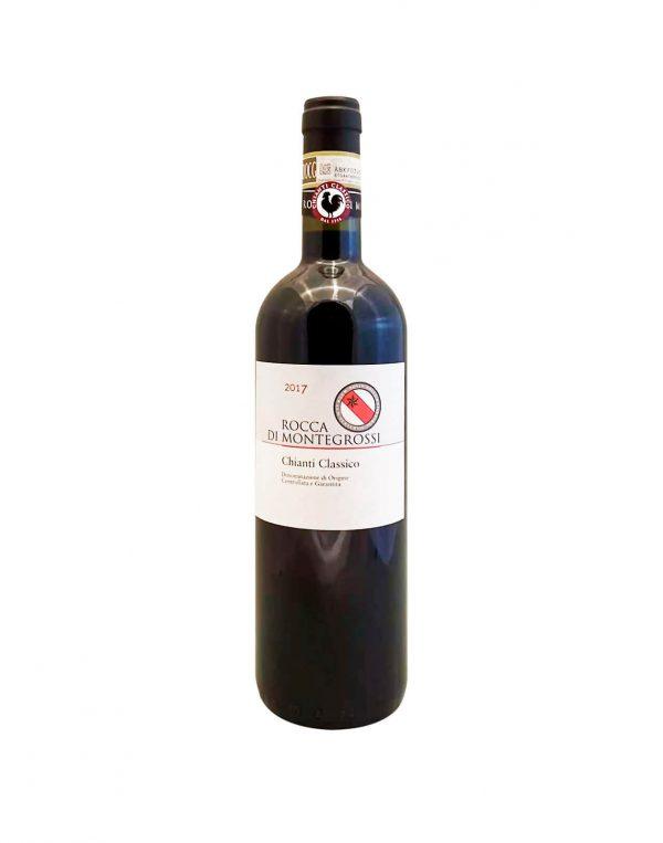 ROCCA DI MONTEGROSSI Chianti Classico 2017, vinoteka Bratislava Sunny wines slnecnice mesto, petrzalka, vino červené z Talianska, rozvoz vín, eshop