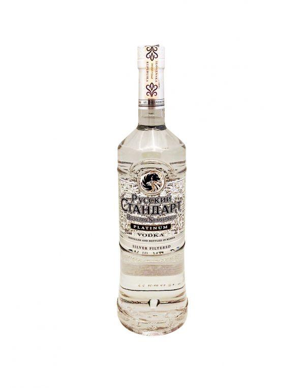 Ruský Standard Platinum 40%, Bottleshop Sunny wines slnecnice mesto, petrzalka, Vodka, rozvoz alkoholu, eshop