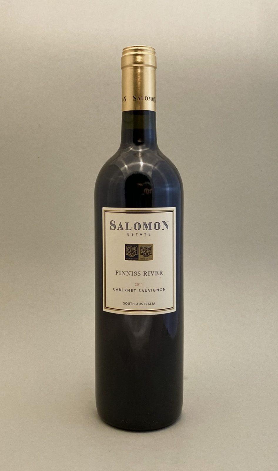 SALOMON Finniss River Caberner Sauvignon 2011, vinoteka Bratislava slnecnice mesto, petrzalka, vino červene z Australie