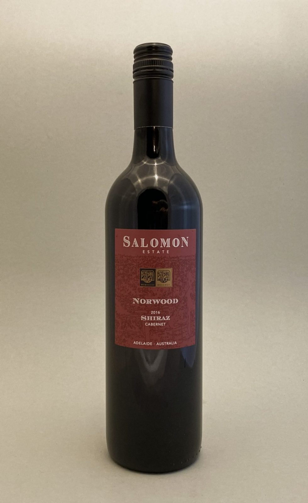 SALOMON Norwood Shiraz 2016, vinoteka Bratislava slnecnice mesto, petrzalka, vino červene z Australie
