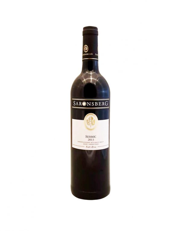 SARONSBERG Seismic 2013, vinoteka Sunny wines slnecnice mesto, Bratislava petrzalka, vino červené z Južnej Afriky