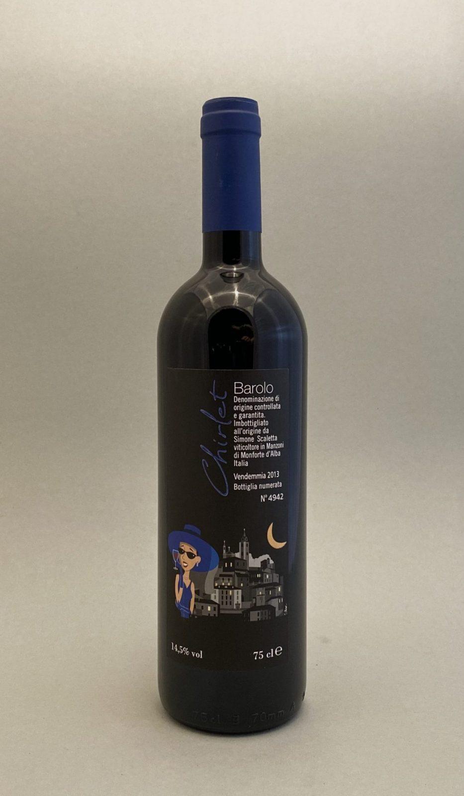 SIMONE SCALETTA Chirlet Barolo 2013, vinoteka Sunny wines slnecnice mesto, Bratislava petrzalka, vino červené z Talianska