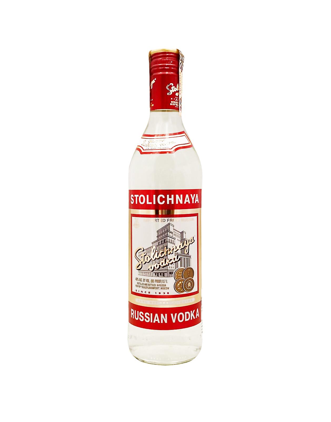 Stolichnaya Russian Vodka 40%, Bottleshop Sunny wines slnecnice mesto, petrzalka, Vodka, rozvoz alkoholu, eshop
