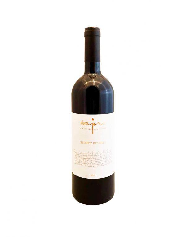 TAJNA Cuvée Secret Reserva 2017, vinotéka v Slnečniciach, slovenské červené víno, Bratislava Petržalka, Sunny Wines