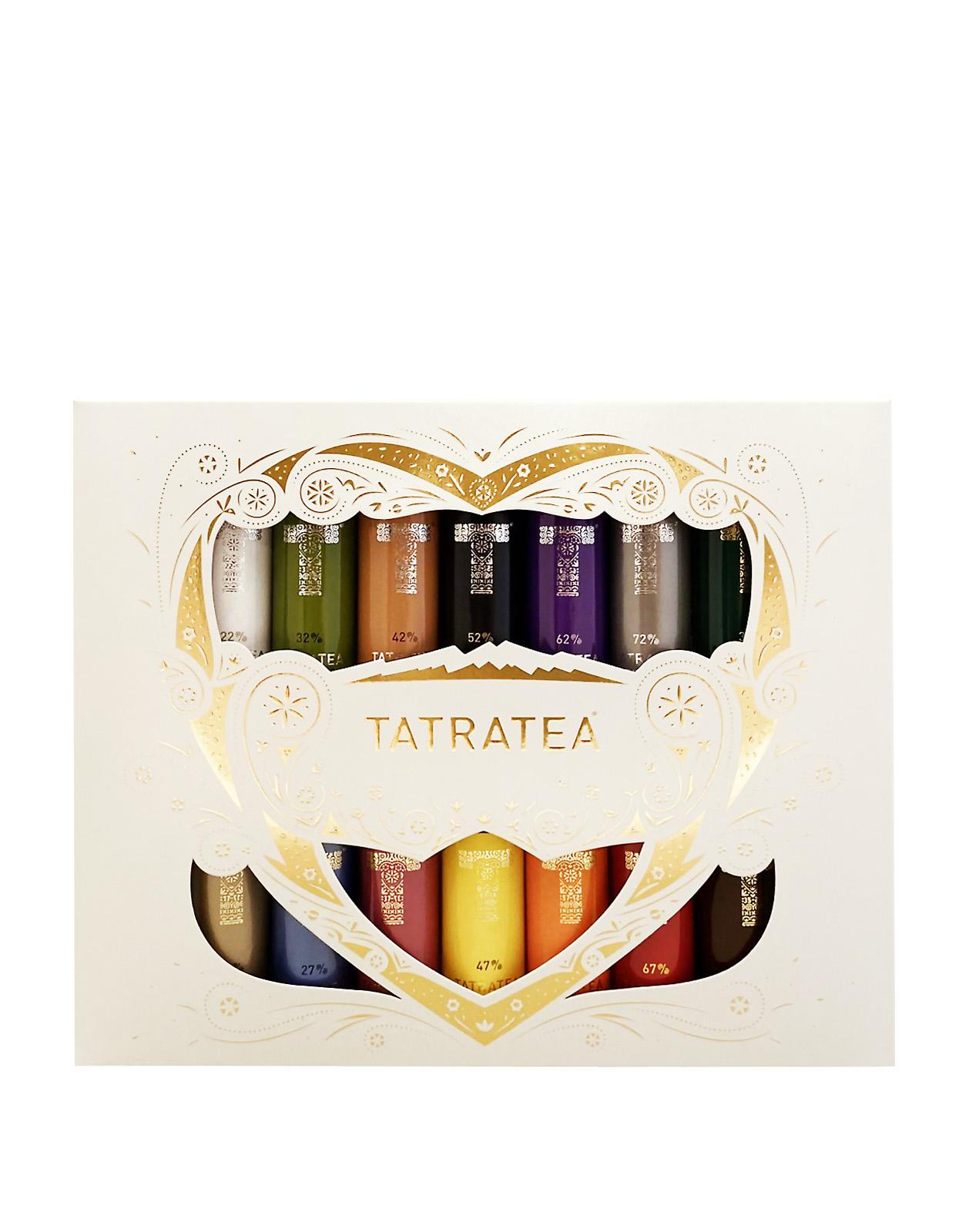 TATRATEA Mini Set 17-72% 14ks, Bottleshop Sunny wines slnecnice mesto, petrzalka, Tatratea, rozvoz alkoholu, eshop