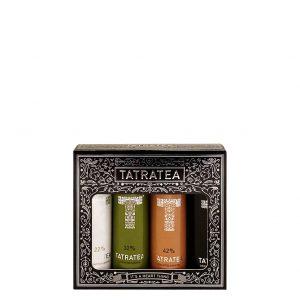 TATRATEA Mini Set 22-52% 4 ks, Bottleshop Sunny wines slnecnice mesto, petrzalka, Tatratea, rozvoz alkoholu, eshop