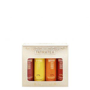 TATRATEA Mini Set 37-67% 4ks, Bottleshop Sunny wines slnecnice mesto, petrzalka, Tatratea, rozvoz alkoholu, eshop