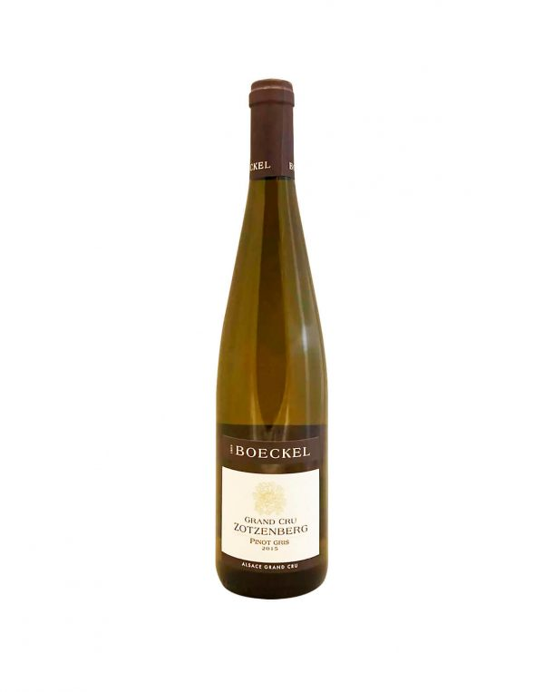 THOMAS BOECKEL Pinot Gris 2015, vinoteka Bratislava slnecnice mesto, petrzalka, vino biele z Francúzska