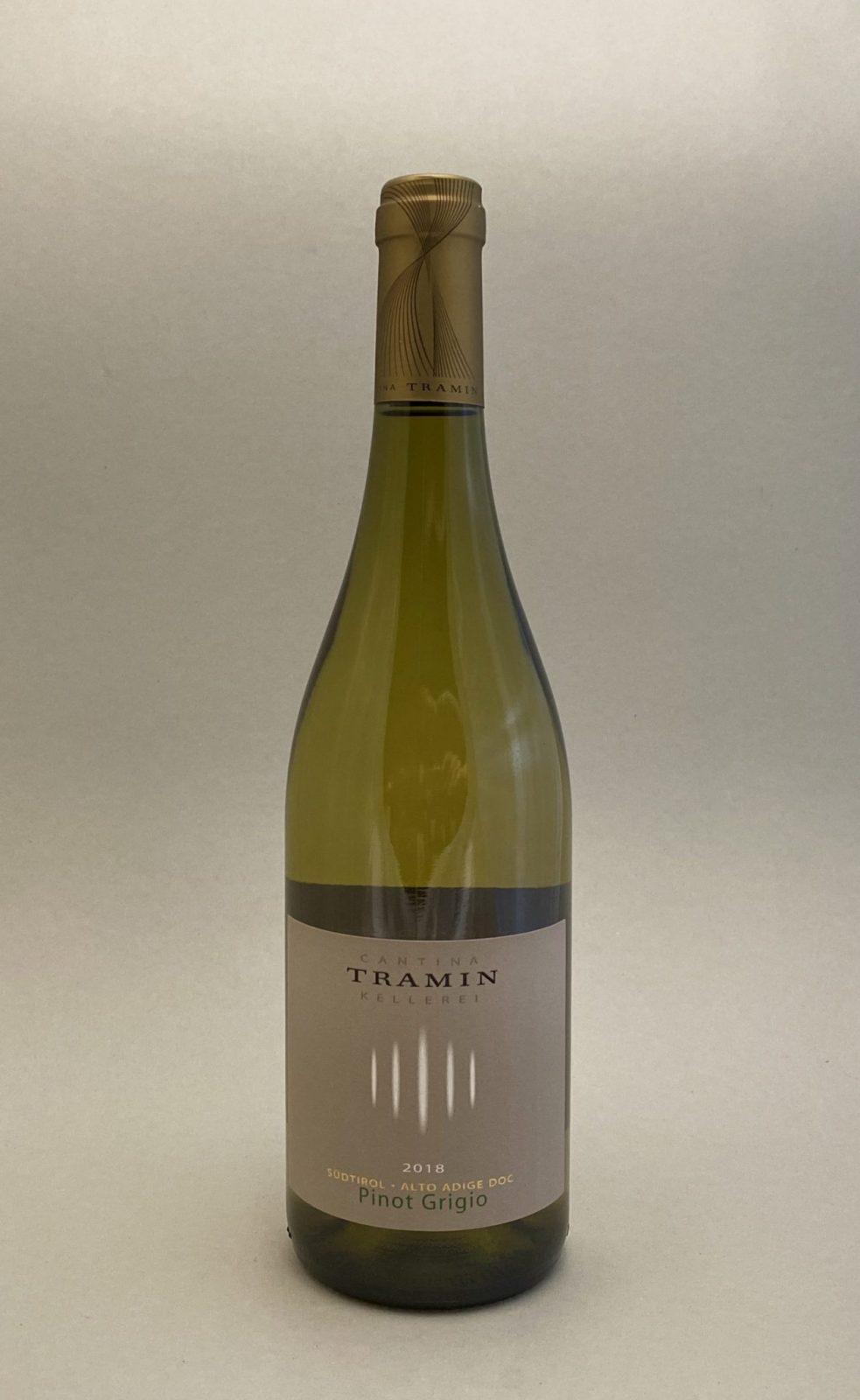 TRAMIN Pinot Grigio 2018, vinoteka Sunny wines slnecnice mesto, Bratislava petrzalka, vino biele z Talianska