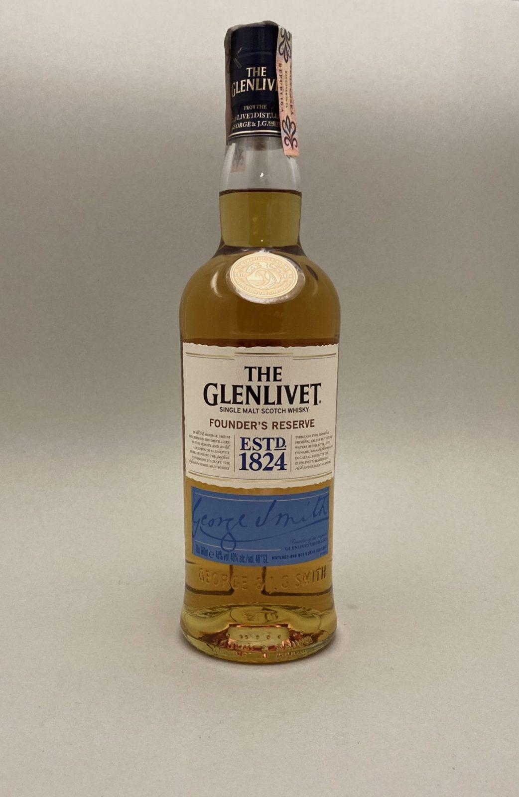 The Glenlivet Founder's Reserve 40%, Bottleshop Sunny wines slnecnice mesto, petrzalka, Škótska Whisky, rozvoz alkoholu, eshop