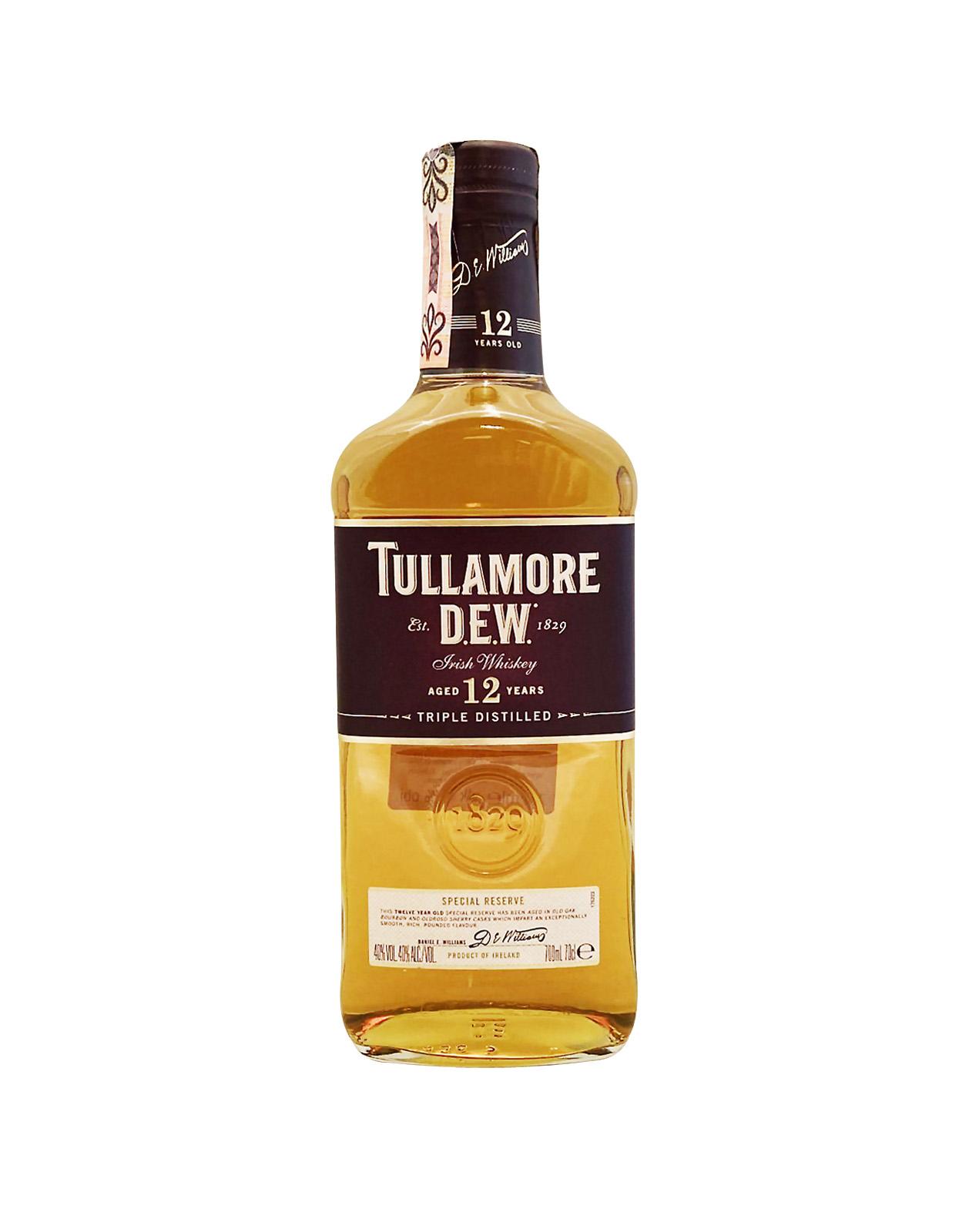 Tullamore Dew 12YO 40%, Bottleshop Sunny wines slnecnice mesto, petrzalka, Írska Whiskey, rozvoz alkoholu, eshop