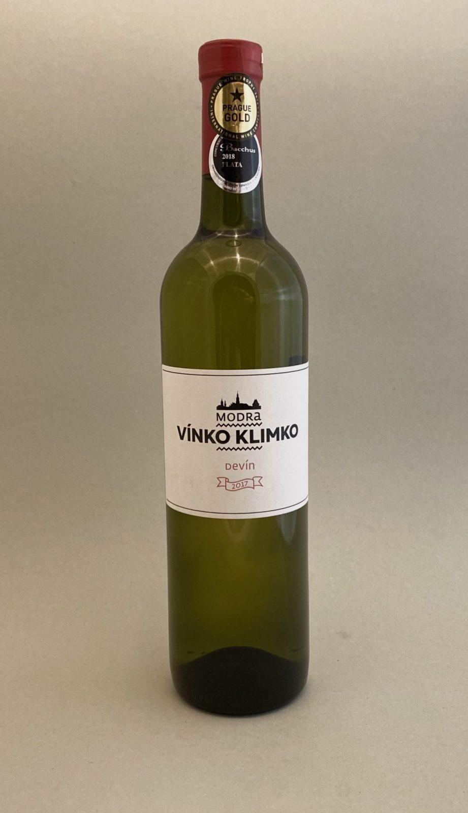 VÍNKO KLIMKO Devín 2017, vinotéka v Slnečniciach, slovenské biele víno, Bratislava Petržalka, Sunny Wines