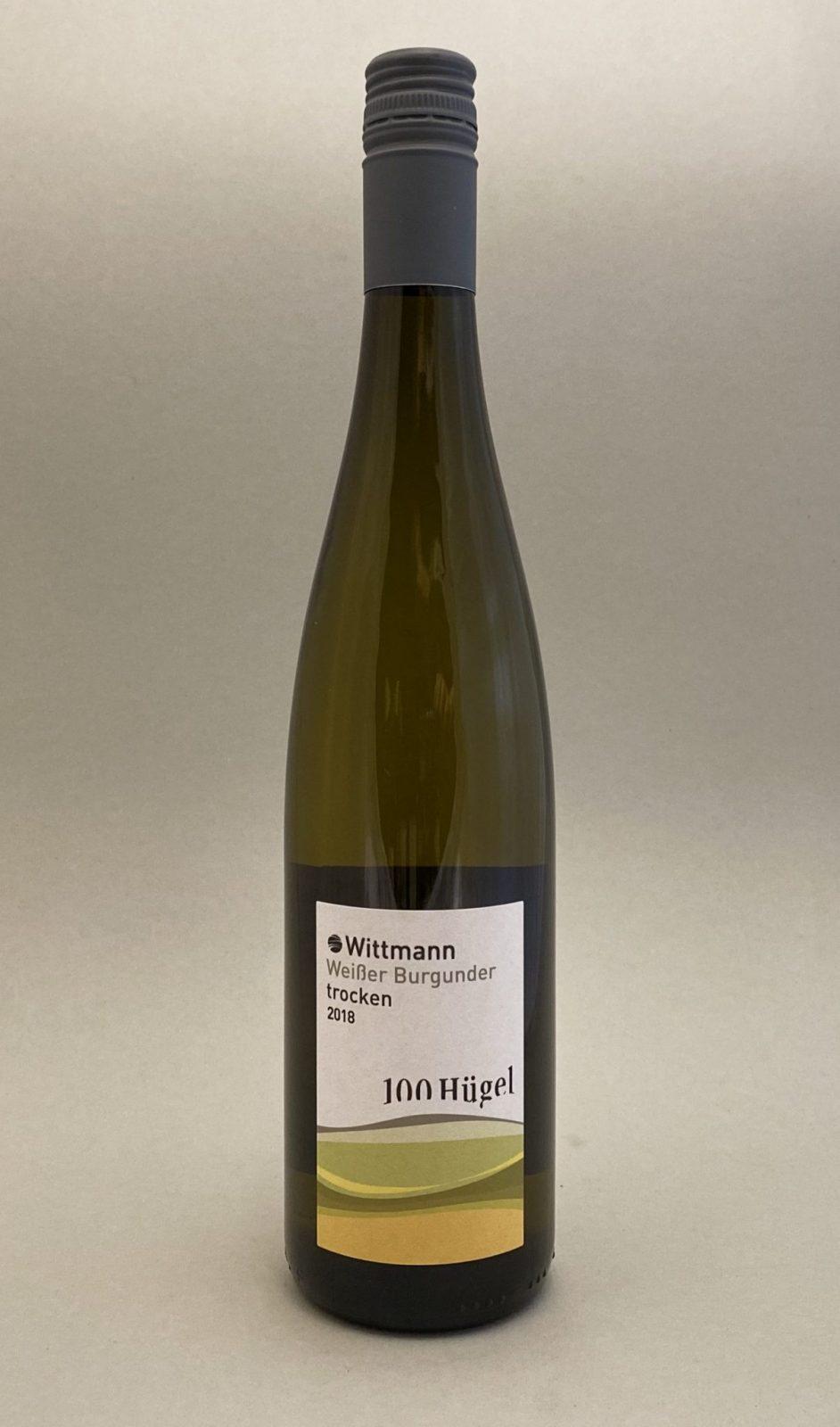 WITTMANN 100 Hügel Weißer Burgunder 2018, vinoteka Bratislava Sunny wines slnecnice mesto, petrzalka, vino biele z Nemecka