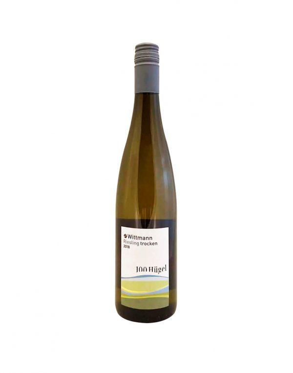 WITTMANN 100 Hügel Riesling 2018 , vinoteka Bratislava Sunny wines slnecnice mesto, petrzalka, vino biele z Nemecka