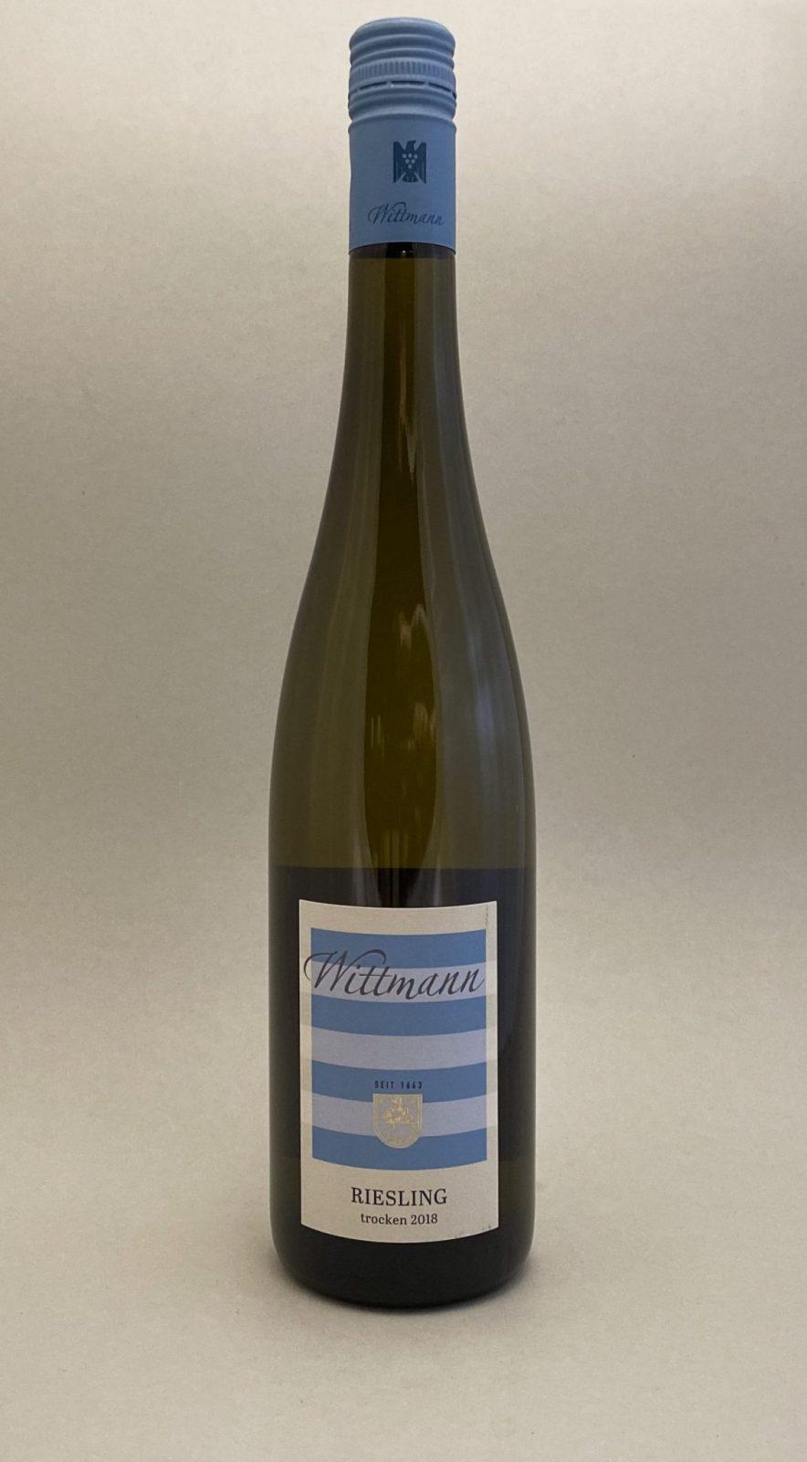 WITTMANN Riesling 2018, vinoteka Bratislava Sunny wines slnecnice mesto, petrzalka, vino biele z Nemecka