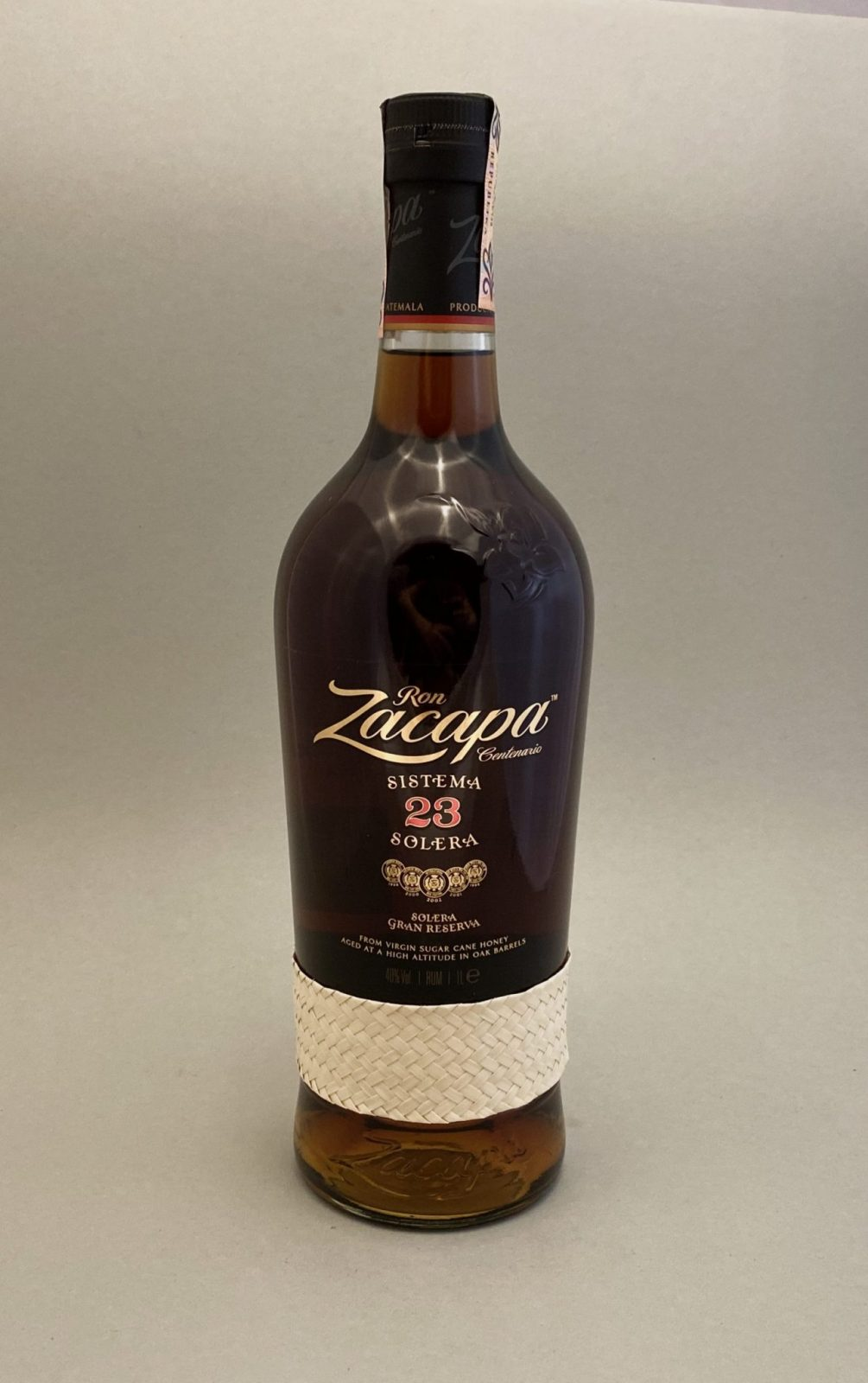 Zacappa Centenario 23YO 40%, Bottleshop Sunny wines slnecnice mesto, petrzalka, rum, rozvoz alkoholu, eshop
