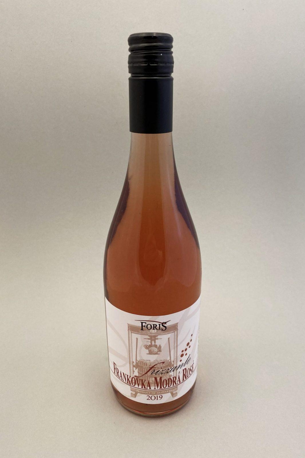 Foriš Vinárstvo Frankovka Modrá ROSÉ, vinotéka v Slnečniciach, slovenské ružové víno, Bratislava Petržalka, Sunny Wines