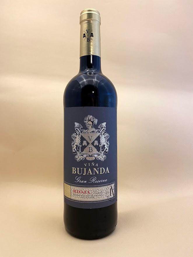 Bujanda - Gran Reserva - Rioja, vinotéka Sunny wines Slnečnice Bratislava Petržalka, rozvoz vín, cervene vino zo Spanielska