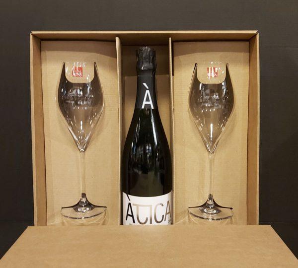 ÀTICA Gran Reserva 2014 Cava Extra Brut, vinotéka bar Sunnywines Bratislava Petržalka, bublinkové víno, darček pre muža ženu, eshop