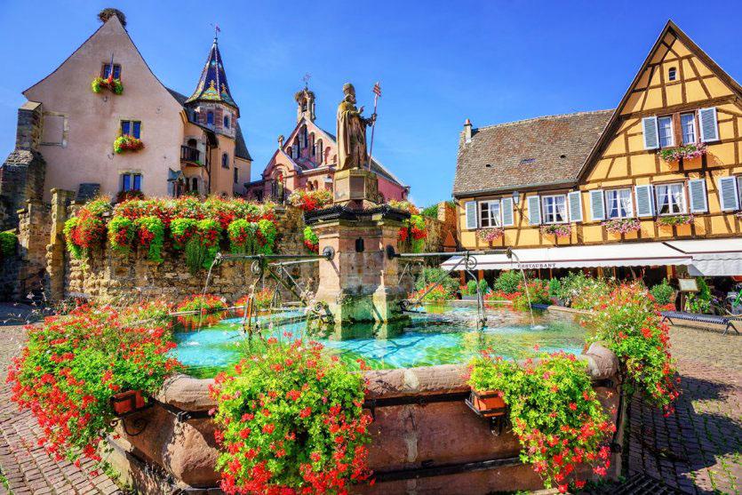 Alsace eguisheim Francuzsko