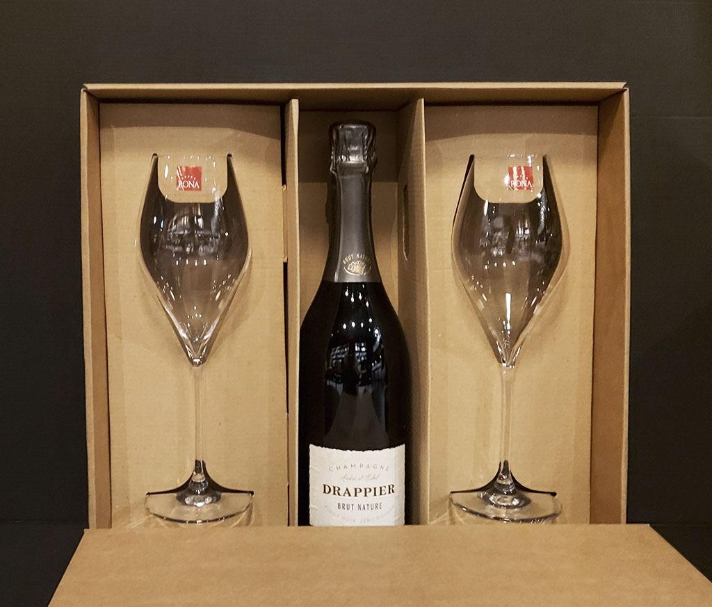 DRAPPIER Champagne Brut Nature, vinotéka bar Sunnywines Bratislava Petržalka, bublinkové víno, darček pre muža ženu, eshop