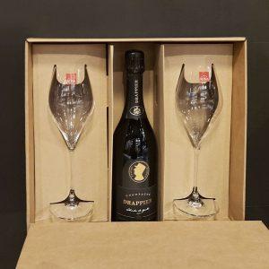 DRAPPIER Charles De Gaulle Champagne Brut, vinotéka bar Sunnywines Bratislava Petržalka, bublinkové víno, darček pre muža ženu, eshop