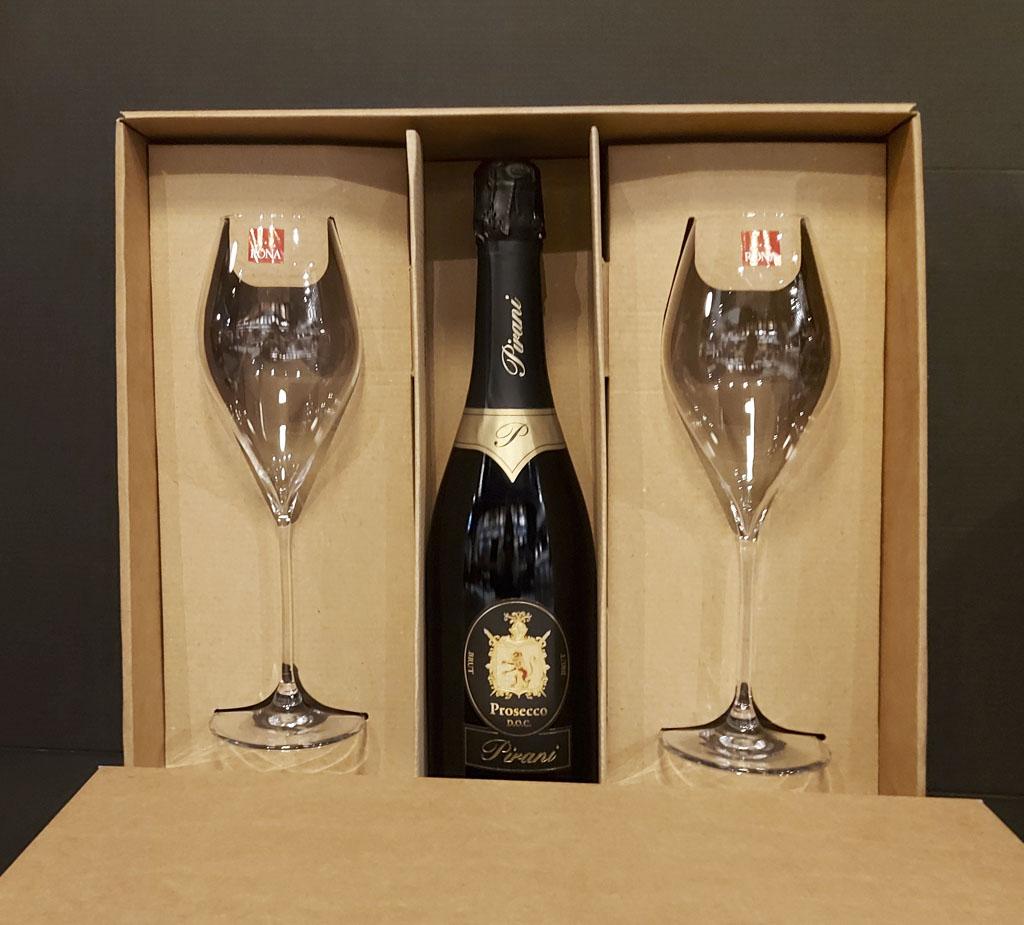 Darčekový set Pirani, vinotéka bar Sunnywines Bratislava Petržalka, bublinkové víno, darček pre muža ženu, eshop