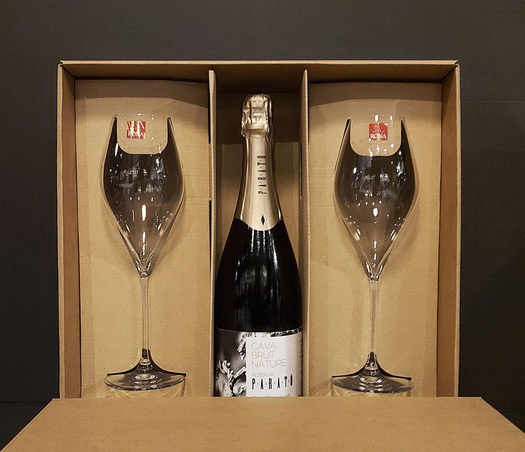 PARATO Cava Brut Nature, vinotéka bar Sunnywines Bratislava Petržalka, bublinkové víno, darček pre muža ženu, eshop