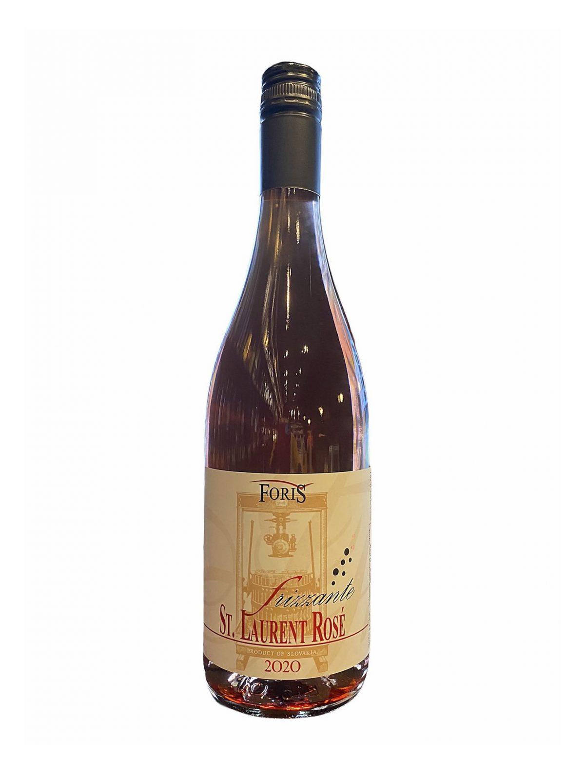 Foriš St. Laurent Rosé, vinotéka v Slnečniciach, slovenské ružové víno, Bratislava Petržalka, Sunny Wines