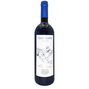 Simone Scaletta Barolo, Taliansko červené víno, vinotéka Sunny wines Slnečnice Bratislava Petržalka, rozvoz vín