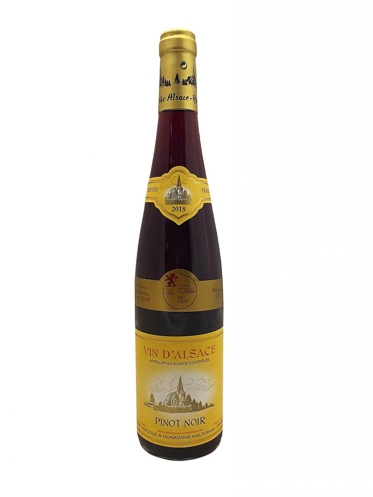 Vin D´Alsace Pinot Noir, Červené víno, vinotéka Sunny wines, slnecnice mesto Bratislava, rozvoz vina, francúzske víno
