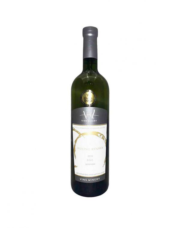 Vins Winery Rizling Rínsky, vinotéka v Slnečniciach, Slovenské biele víno, Bratislava Petržalka, Sunny Wines