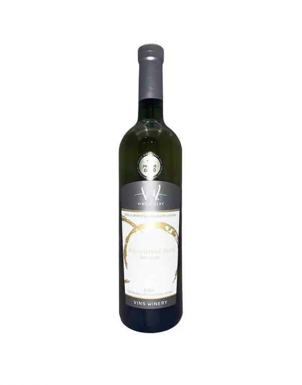 Vins Winery Rulandské šedé, vinotéka v Slnečniciach, Slovenské biele víno, Bratislava Petržalka, Sunny Wines