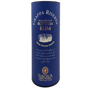 Grappa Riserva Rum Wood Finish, Bottleshop Sunny wines slnecnice mesto, petrzalka, rum, rozvoz alkoholu, eshop
