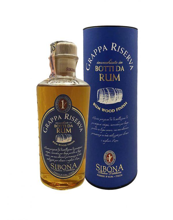 Grappa Riserva Rum Wood Finish, , Bottleshop Sunny wines slnecnice mesto, petrzalka, rum, rozvoz alkoholu, eshop
