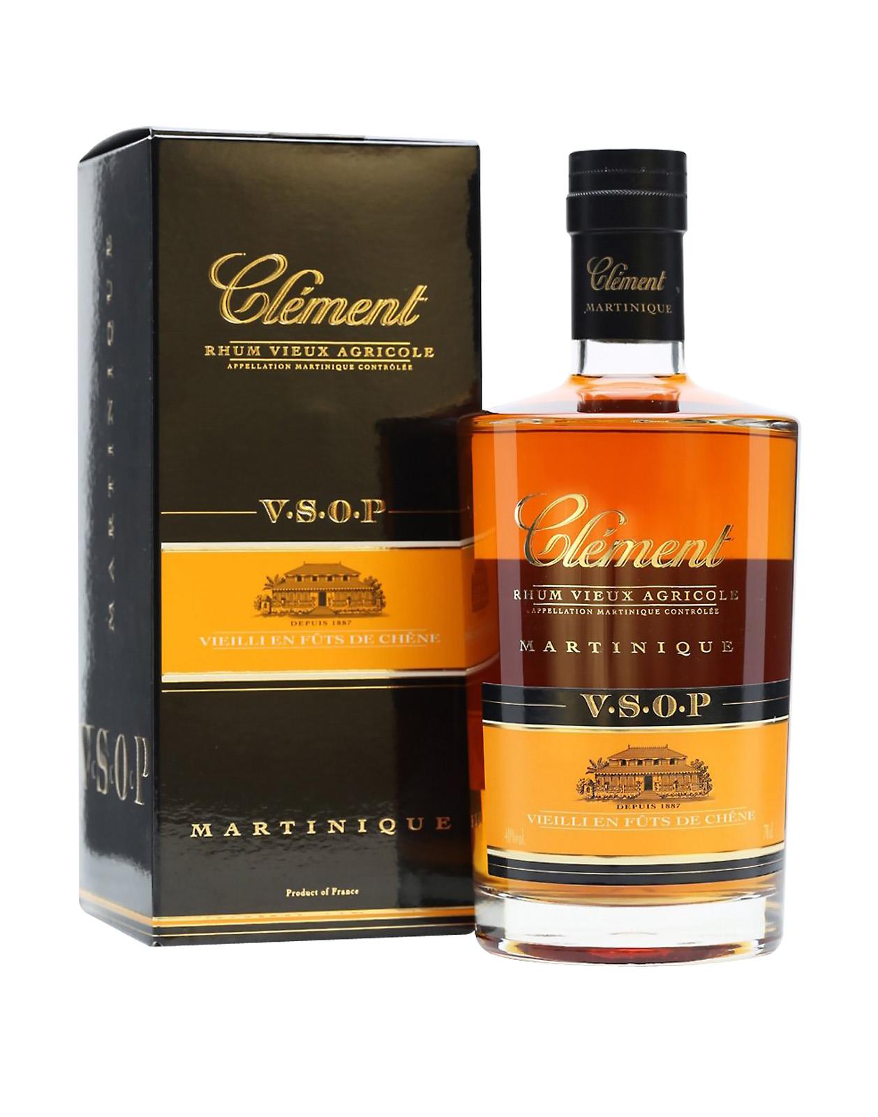 Clément Rhum VSOP 0,7L 40% rum, Bottleshop Sunny wines slnecnice mesto, petrzalka, rum, rozvoz alkoholu, eshop